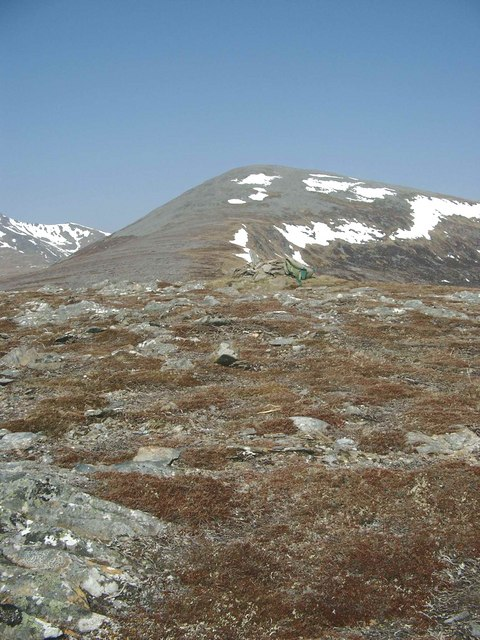 The summit of Mullach na Maoile