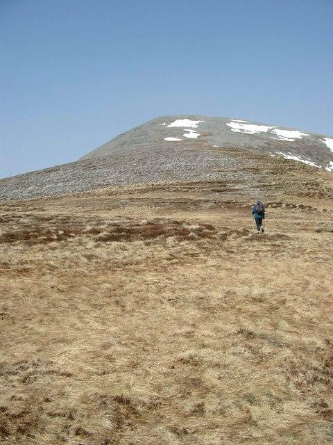 The south ridge of Carn nan Gobhar