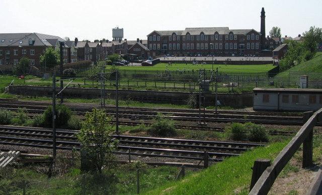 Poppleton Road School & East Coast Main Line
