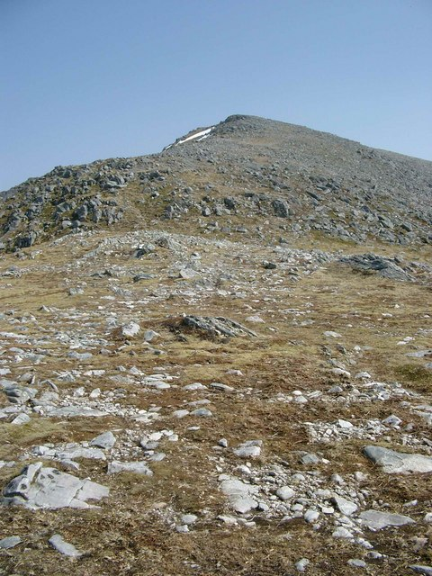 The NW ridge of Carn nan Gobhar