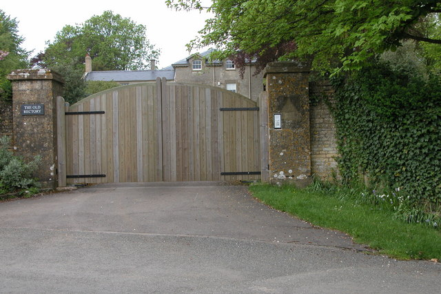 Entrance Gates to the Old Rectory, Duntisbourne Abbots
