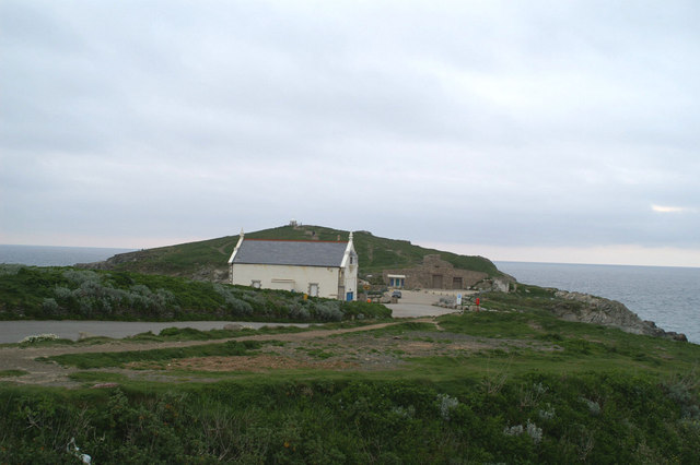 Towan Head, from Hedge Cove
