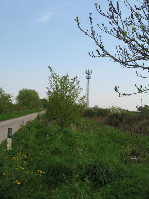 Mast on the Lane to Scagglethorpe Moor