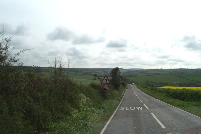 On the A3059 heading East out of Newquay