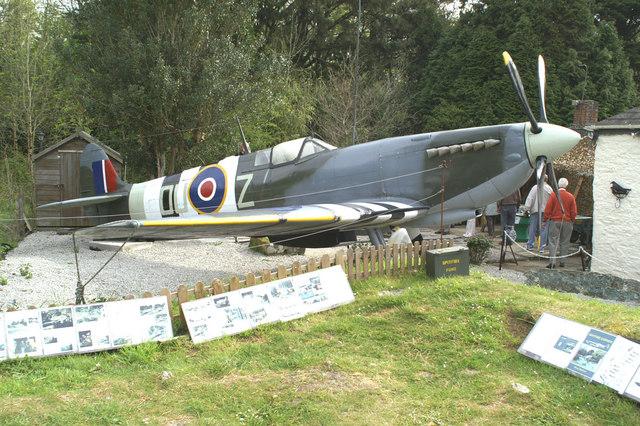 Grounded - Mk. IX Spitfire