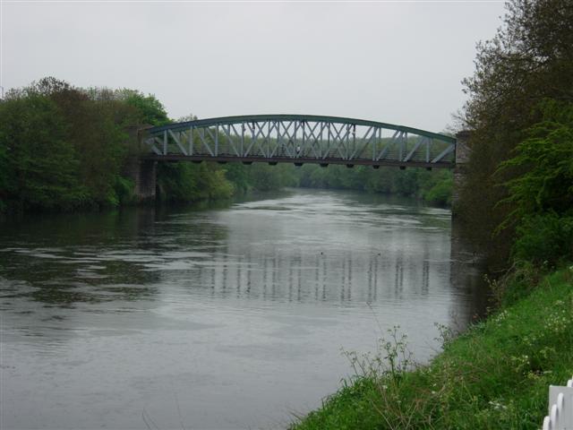 Road Bridge Over the River Wear at Fatfield