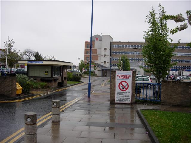 Main Entrance to Sunderland Royal Hospital