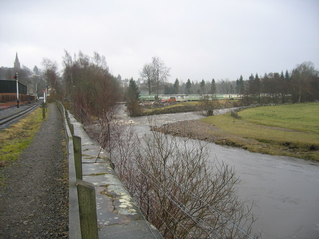 Confluence of Rivers South Tyne and Nent