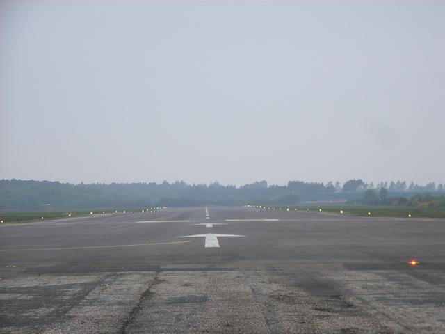 Runway at Blackbushe Airport
