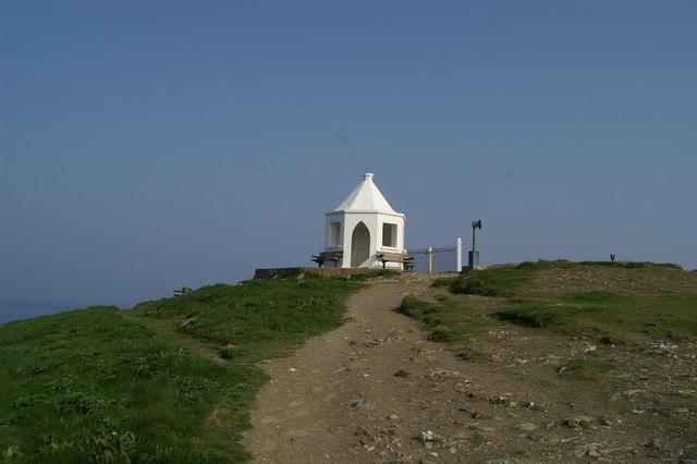 The shelter on Towan Head