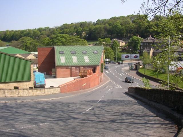 Bottom of Brookfoot Lane, Southowram
