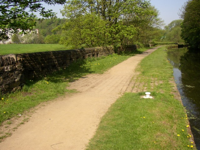 Overflow near Ganny Lock, Brighouse