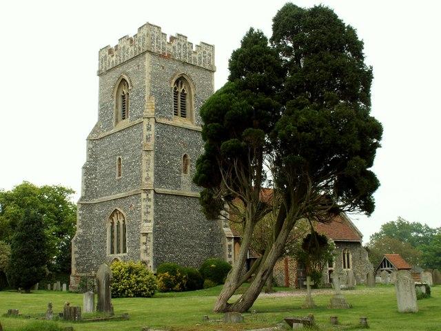 St. Mary Magdalen church, Thorrington, Essex