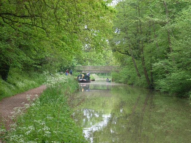 The Basingstoke Canal, near Crookham Village