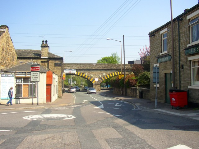 Railway Bridge, Bridge End, Rastrick