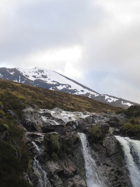 Waterfall on the Upper Uisge Misgeach