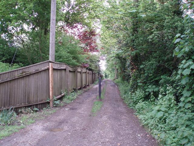 Footpath near Tuddenham St. Martin