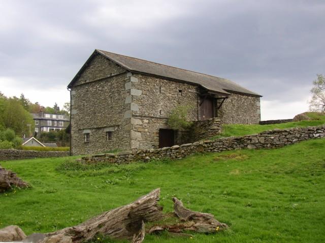 Barn in Borrans Field, Ambleside