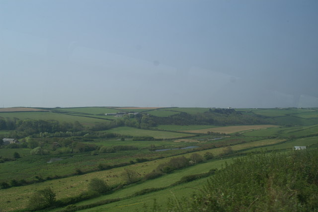 Across the valley towards Trevarrian