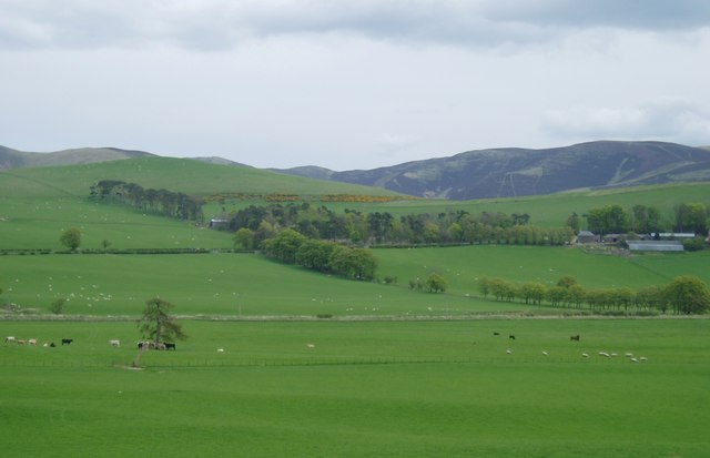 Farmland near Broughton