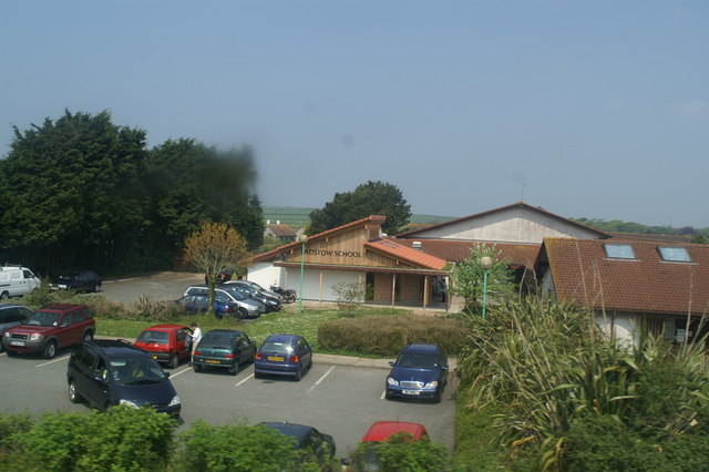 Padstow School on the A389