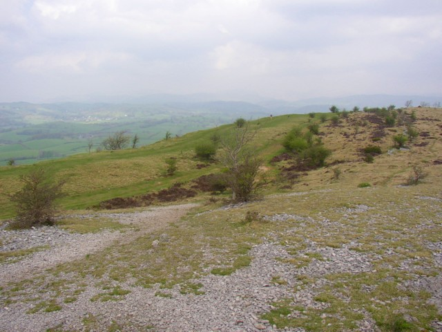 The Scout Scar ridge, Bradleyfield