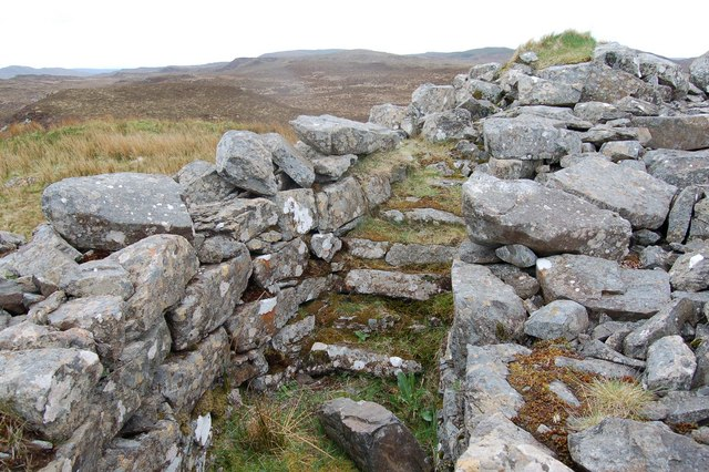 Stairway at Dun Suladale