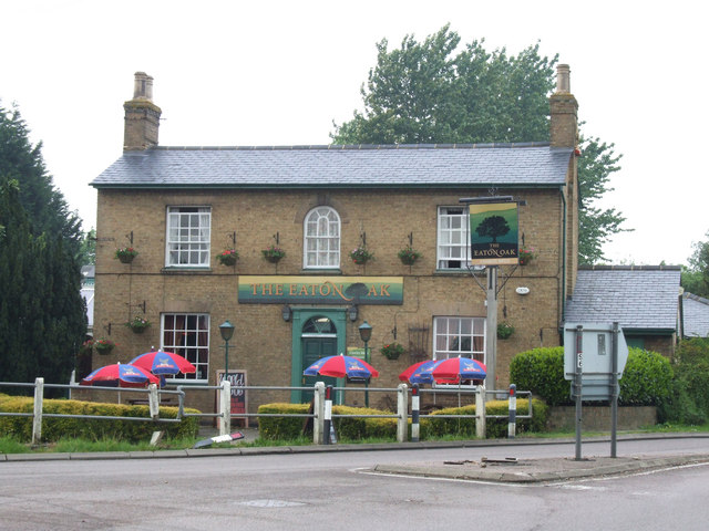 The Eaton Oak public house.