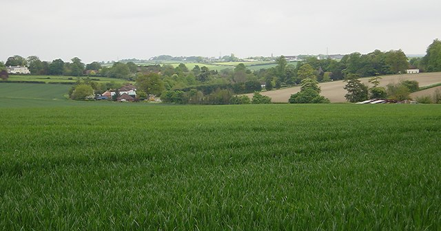 South Warnborough from Westers Lane