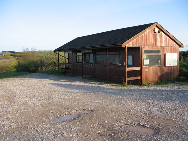 The Visitor Centre at Llyn Alaw