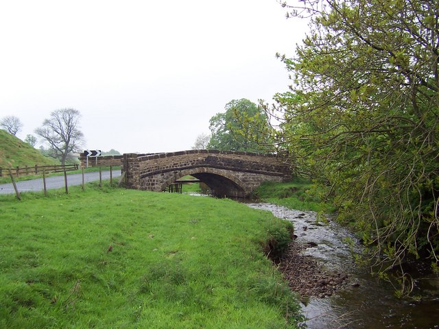 Bridge over Otterburn Beck
