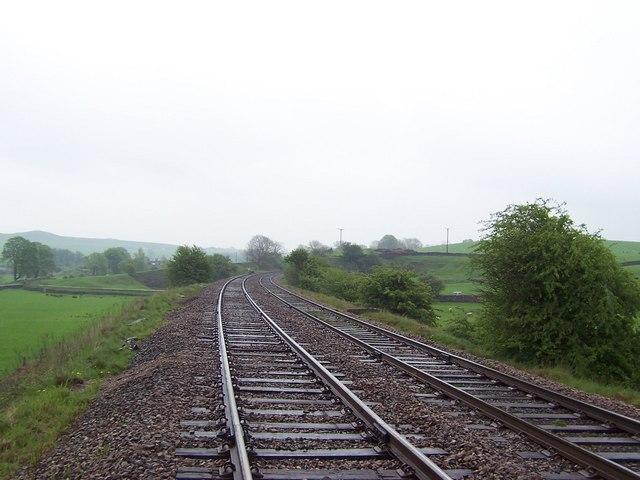 Railway near Bell Busk