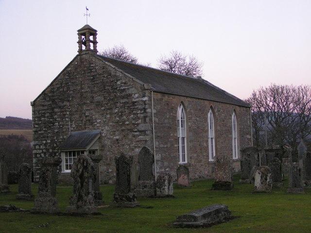 Old Struan kirk