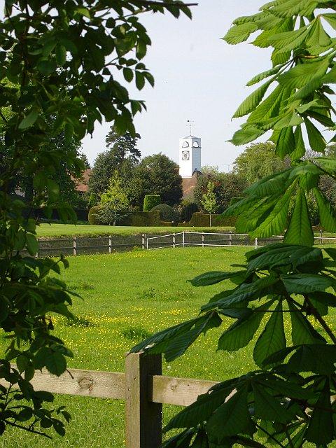Clock tower at Norton Court