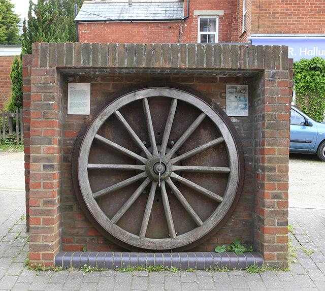 Cast Iron Tyreplate, Fibbards Road, Brockenhurst
