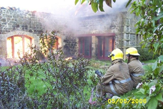 Gowanbank fire