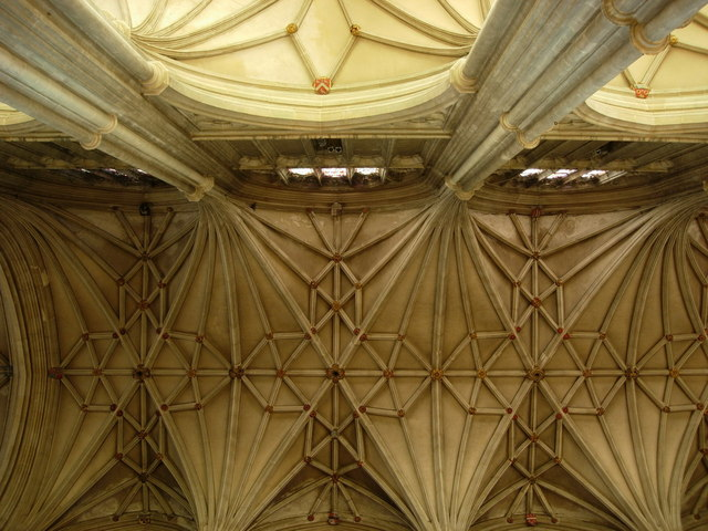 Canterbury Cathedral: the vaulting.