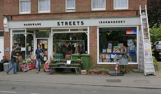 Streets hardware store, Brockenhurst