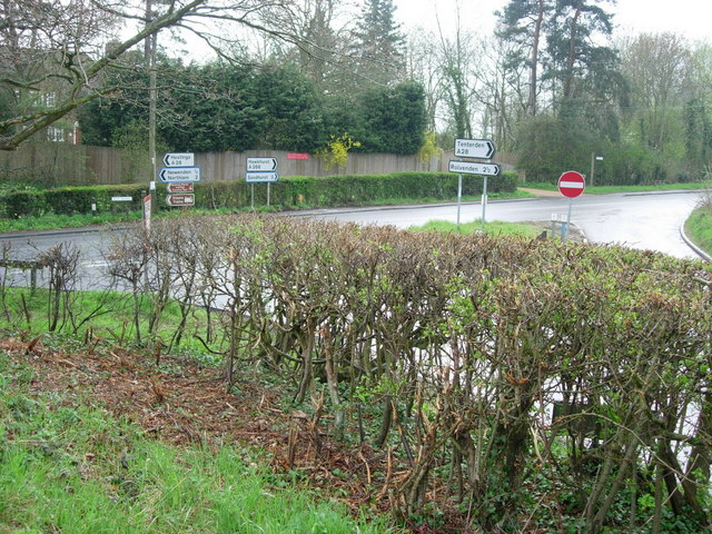 Newenden- intersection A268-A28.