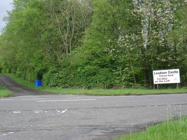 Howletburn road-end