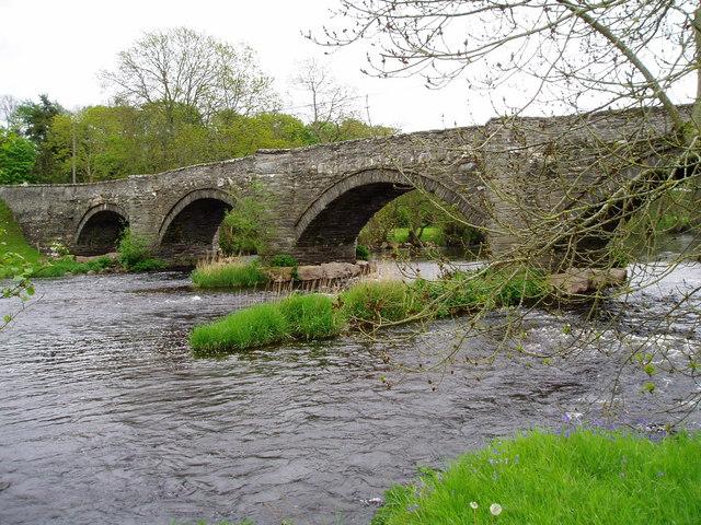Pont Dyfrdwy, Cynwyd