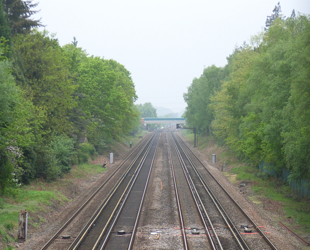 Railway at Fleet