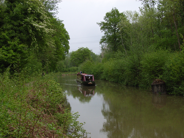The Basingstoke Canal, near Crookham Village