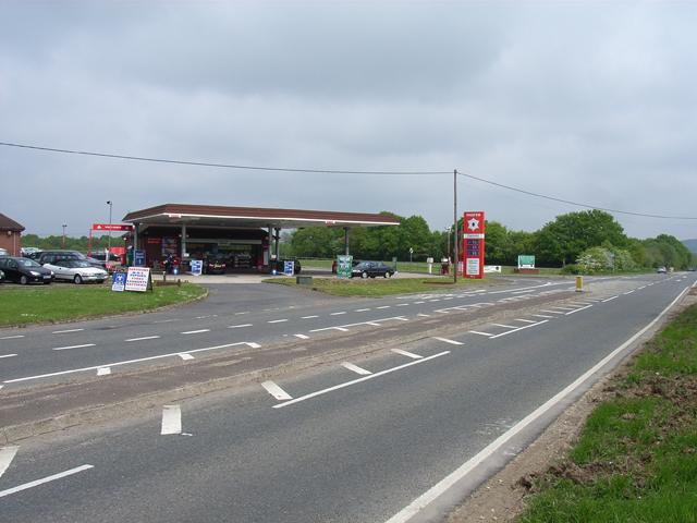 Petrol station at Mill Lane