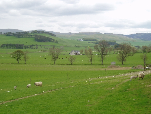 Farmland near Biggar