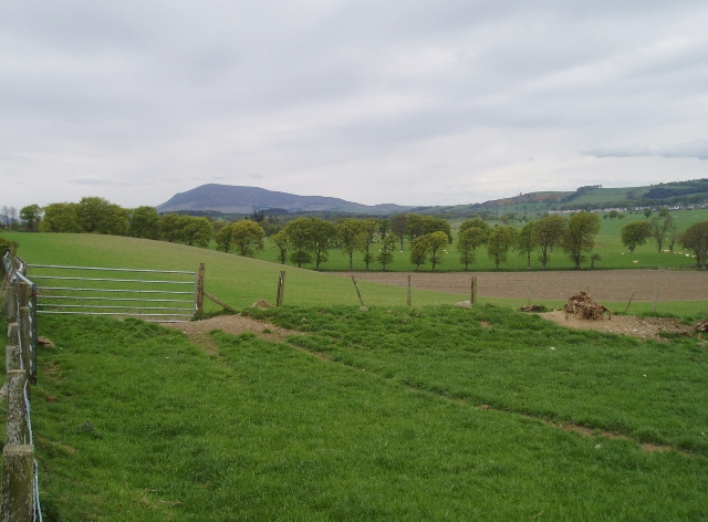 Countryside south-east of Biggar