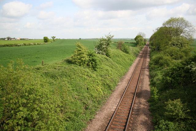 From Wellingley Lane Bridge
