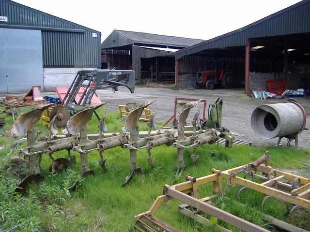 Farming machinery, Billown, Isle of Man