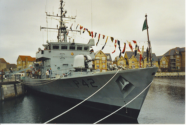 Chatham Navy Days 2002, St Mary's Island.