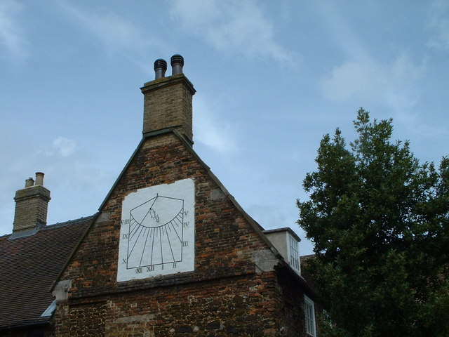 Dial on 'Dial House', Downham Market.